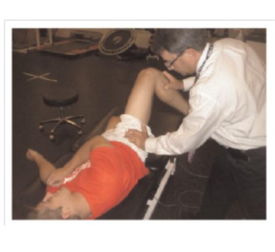 test di abduzione-rotazione esterna-estensione